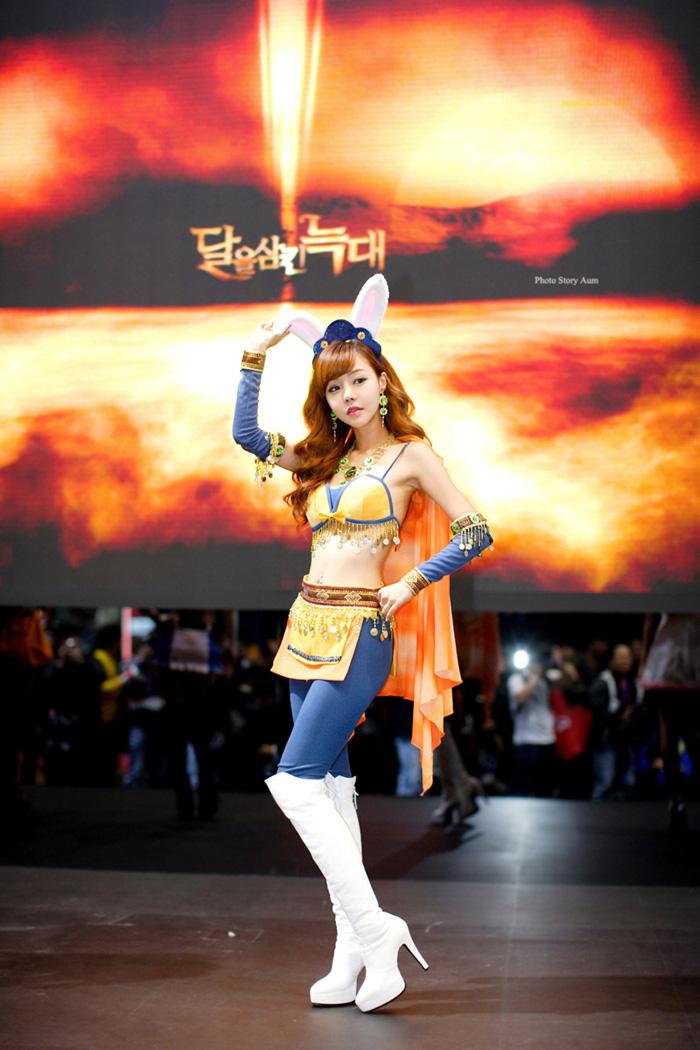Showgirl G-star 2012: Seo Ji Ah - Ảnh 194