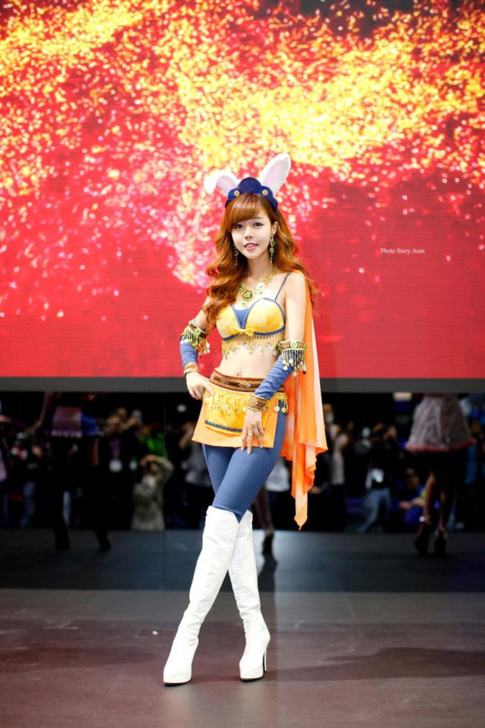 Showgirl G-star 2012: Seo Ji Ah - Ảnh 196