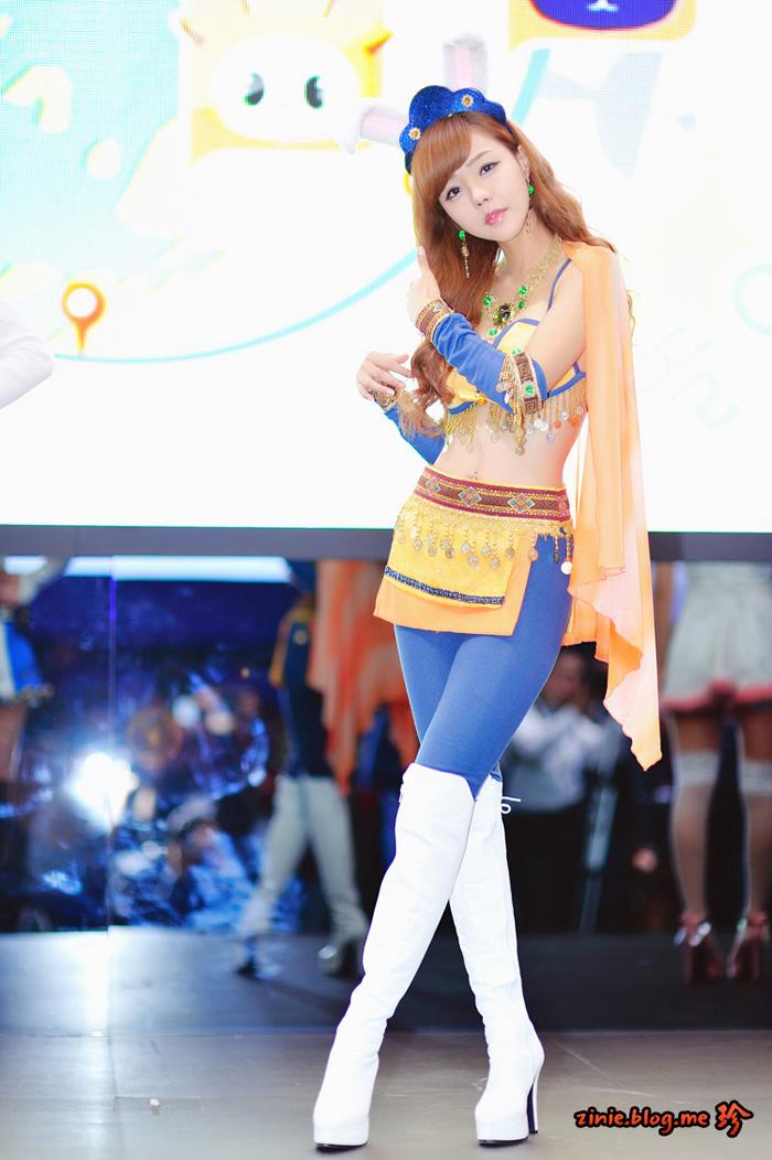 Showgirl G-star 2012: Seo Ji Ah - Ảnh 21