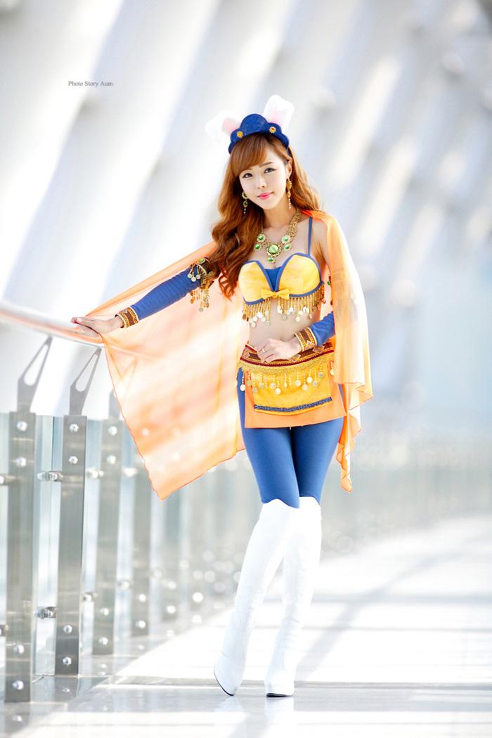 Showgirl G-star 2012: Seo Ji Ah - Ảnh 205