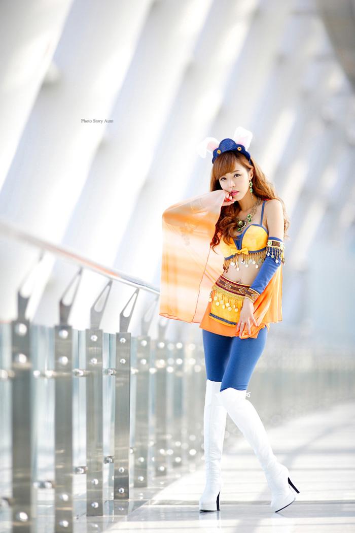Showgirl G-star 2012: Seo Ji Ah - Ảnh 208