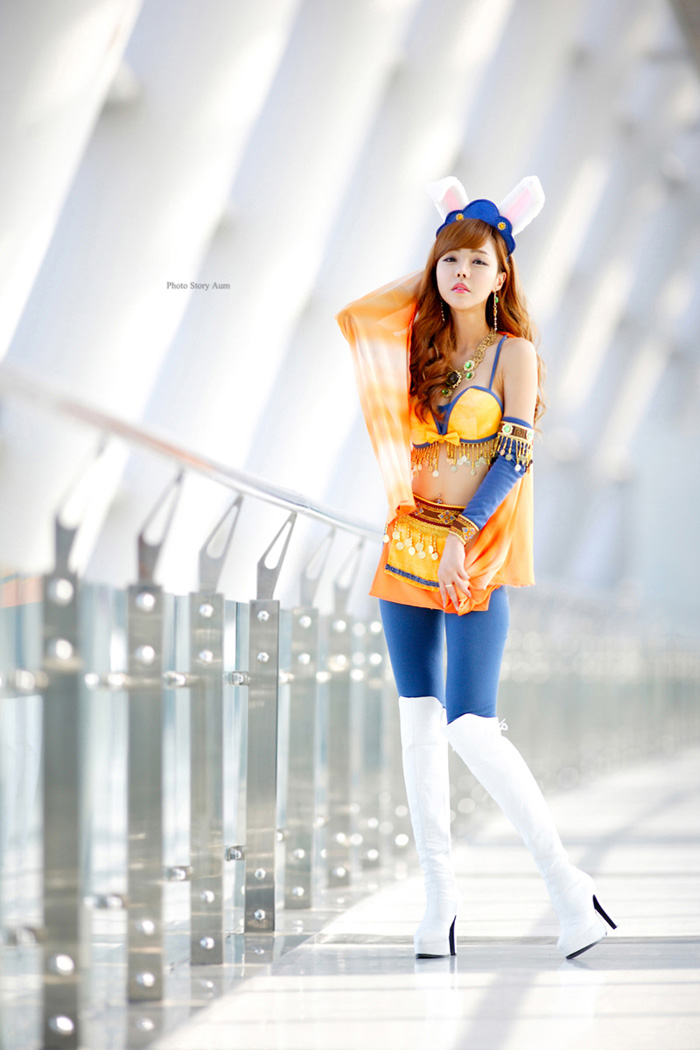 Showgirl G-star 2012: Seo Ji Ah - Ảnh 209