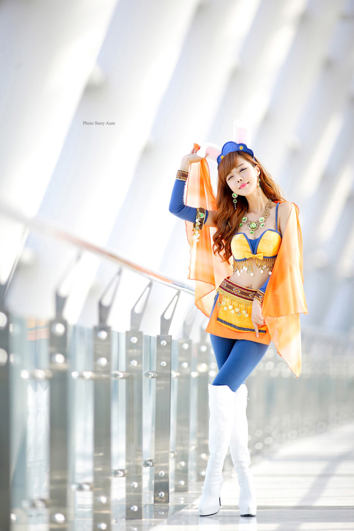 Showgirl G-star 2012: Seo Ji Ah - Ảnh 210