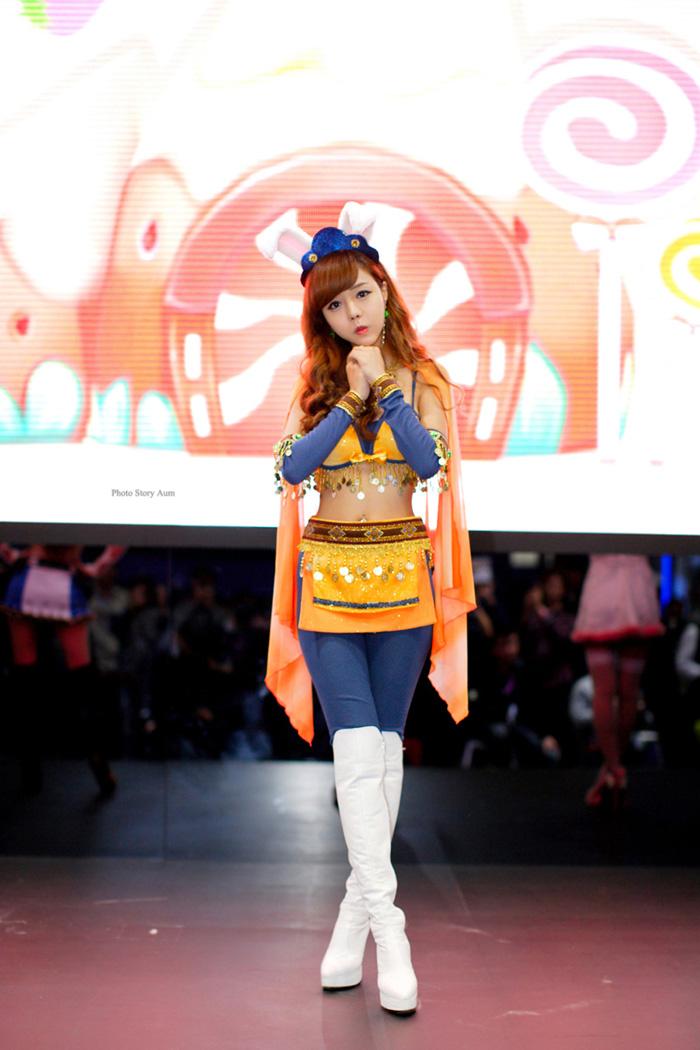 Showgirl G-star 2012: Seo Ji Ah - Ảnh 211