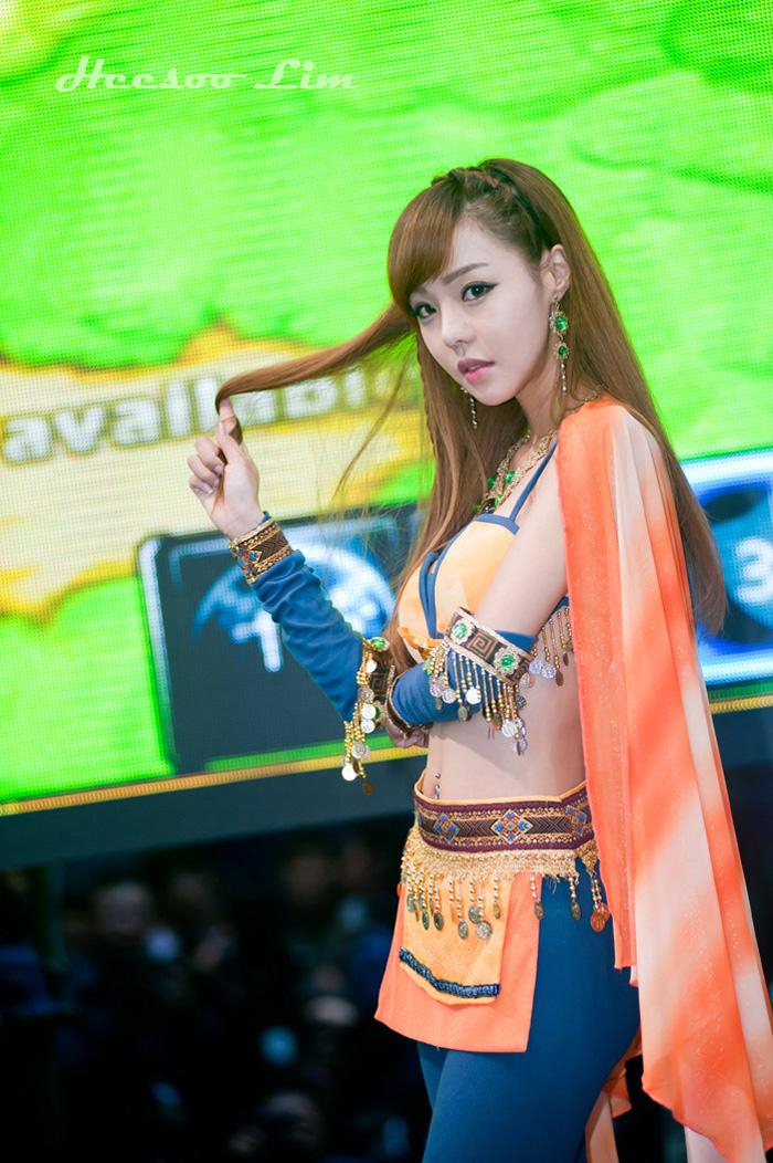Showgirl G-star 2012: Seo Ji Ah - Ảnh 30