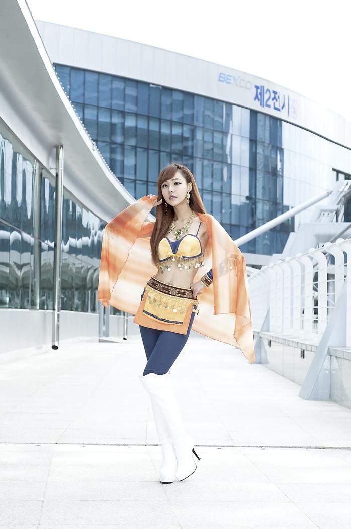 Showgirl G-star 2012: Seo Ji Ah - Ảnh 34