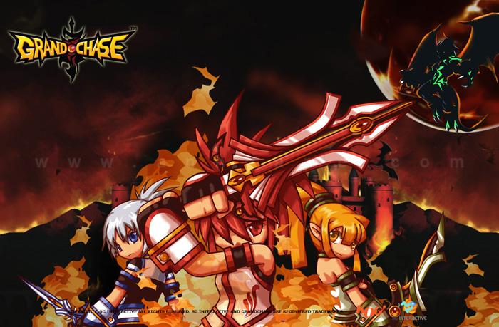 Hình nền tuyệt đẹp của MMORPG Grand Chase