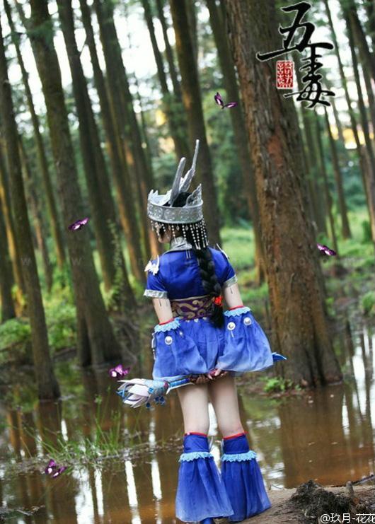 Cosplay tiểu nữ hiệp Ngũ Độc trong VLTK 3 - Ảnh 2