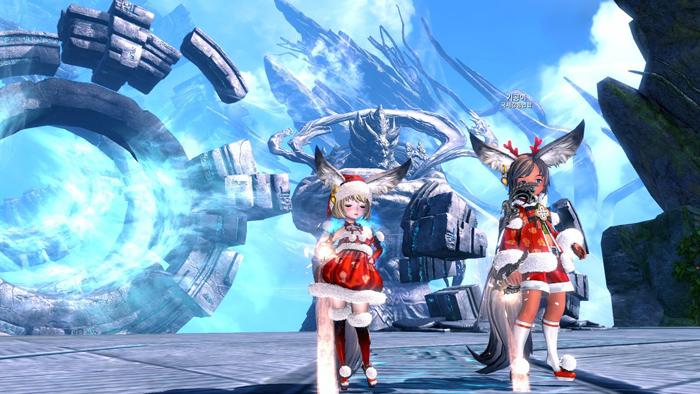 Blade & Soul: Ảnh đón Giáng sinh đáng yêu của tộc Lyn - Ảnh 1