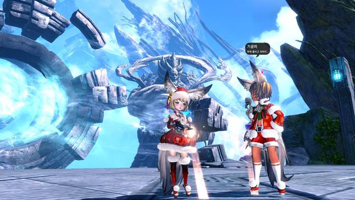 Blade & Soul: Ảnh đón Giáng sinh đáng yêu của tộc Lyn - Ảnh 4