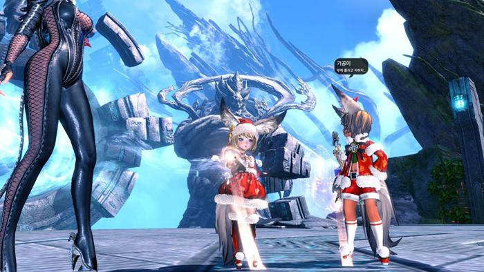 Blade & Soul: Ảnh đón Giáng sinh đáng yêu của tộc Lyn - Ảnh 5