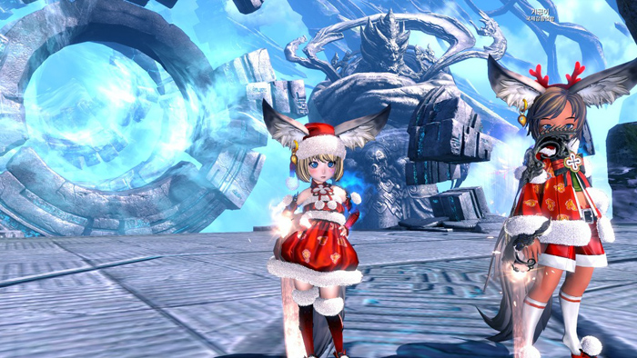 Blade & Soul: Ảnh đón Giáng sinh đáng yêu của tộc Lyn