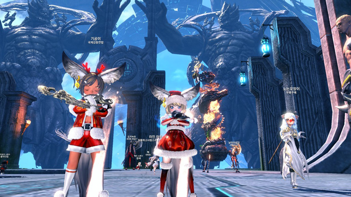 Blade & Soul: Ảnh đón Giáng sinh đáng yêu của tộc Lyn - Ảnh 8