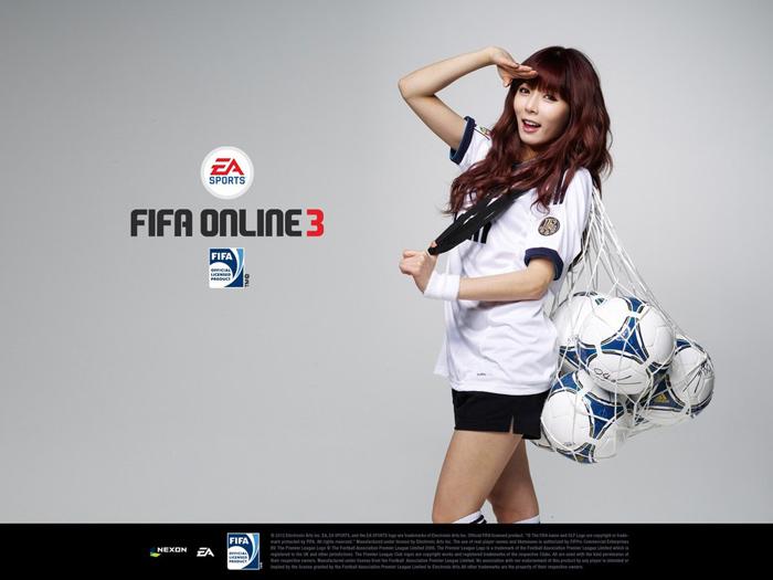 HuynA khỏe khoắn với bộ ảnh quảng bá FIFA Online 3 - Ảnh 1