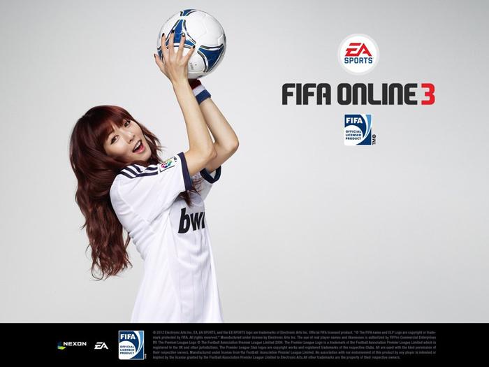 HuynA khỏe khoắn với bộ ảnh quảng bá FIFA Online 3 - Ảnh 2