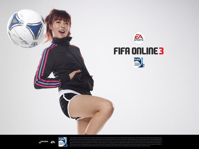 HuynA khỏe khoắn với bộ ảnh quảng bá FIFA Online 3 - Ảnh 4