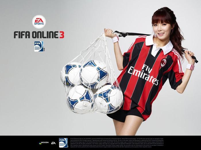 HuynA khỏe khoắn với bộ ảnh quảng bá FIFA Online 3 - Ảnh 5