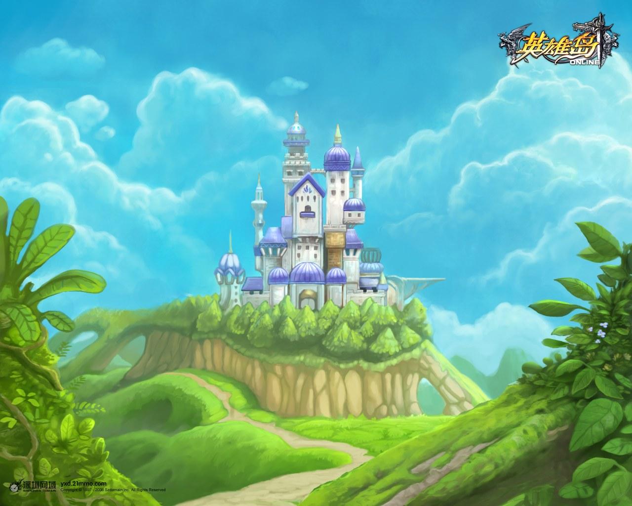 Hình nền dễ thương của Anh Hùng Đảo Online - Ảnh 3